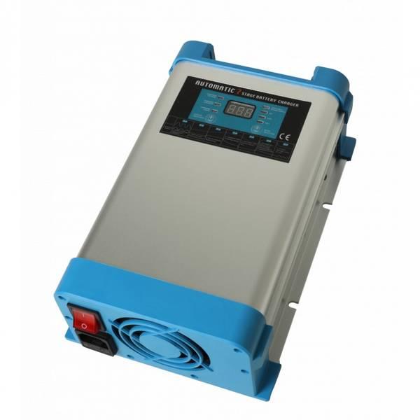 Bilde av SMART BATTERY CHARGER 7-stegs Elektronisk Batterilader 12V 60A -