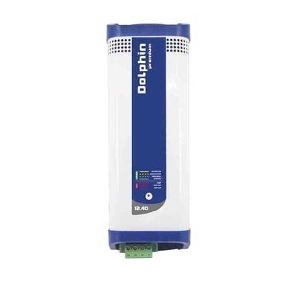 Bilde av DOLPHIN Premium 12V 40A Batterilader 3-kanaler