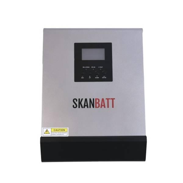 Bilde av SKANBATT Hybrid inverter 12V 1000VA (2000VA) PWM 50A
