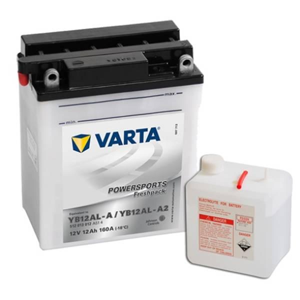 Bilde av VARTA YB12AL-A MC Batteri 12V 12AH 160CCA (136x82x161mm) +høyre