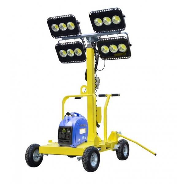 Bilde av HYUNDAI LT600-LED Lysmast 4x150W