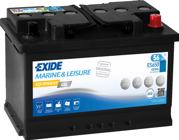 Bilde av ES650 EXIDE EQUIPMENT GEL
