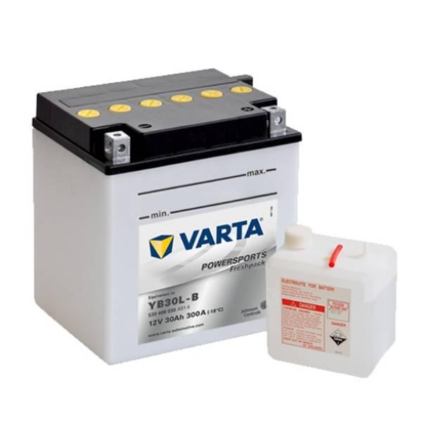 Bilde av VARTA YB30L-B MC Batteri 12V 30AH 300CCA (168x132x176mm) + høyre