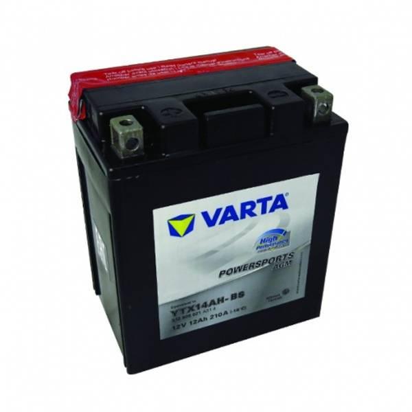 Bilde av  VARTA YTX14AH-BS AGM MC Batteri 12V 12AH 210CCA (134x89x166mm)