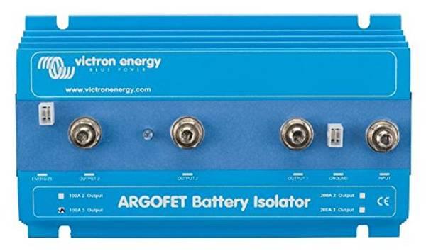 Bilde av VICTRON Argofet 200-3 Skillerele 200A til 3-batterier